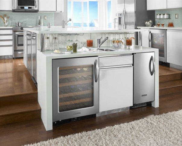 Kitchen Aid Stainless Refrigerator
