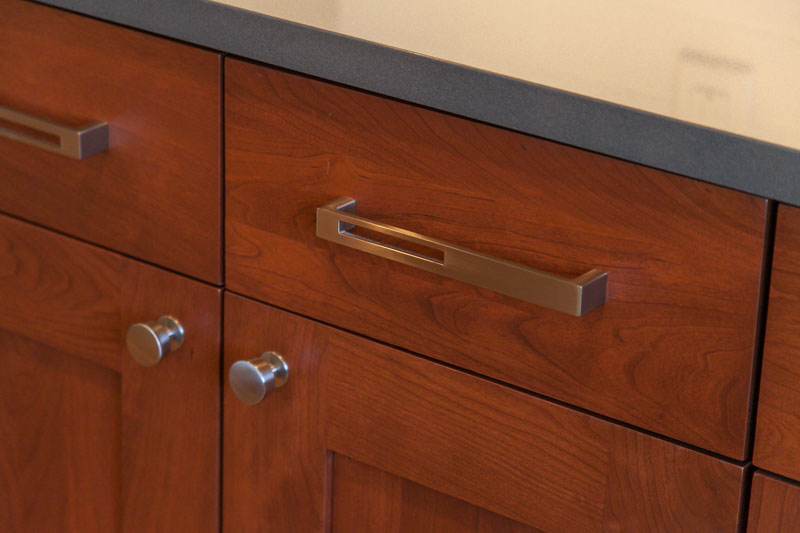 Wood Cabinet Detail photo