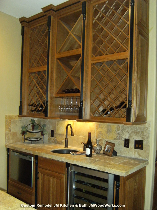 Wine Bar Custom Kitchen And Entertaining Remodel Denver Co Dining Room Budtlers Pantry