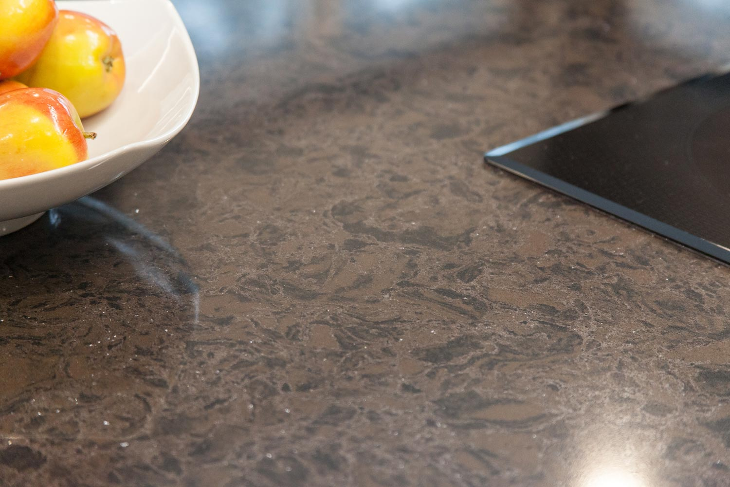 countertop details in the lakewood colorado renovation project
