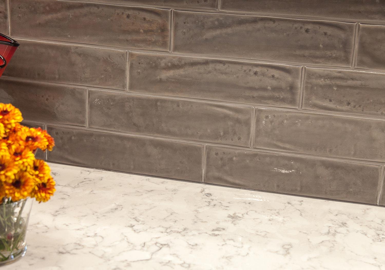Backsplash details in the lakewood colorado renovation project