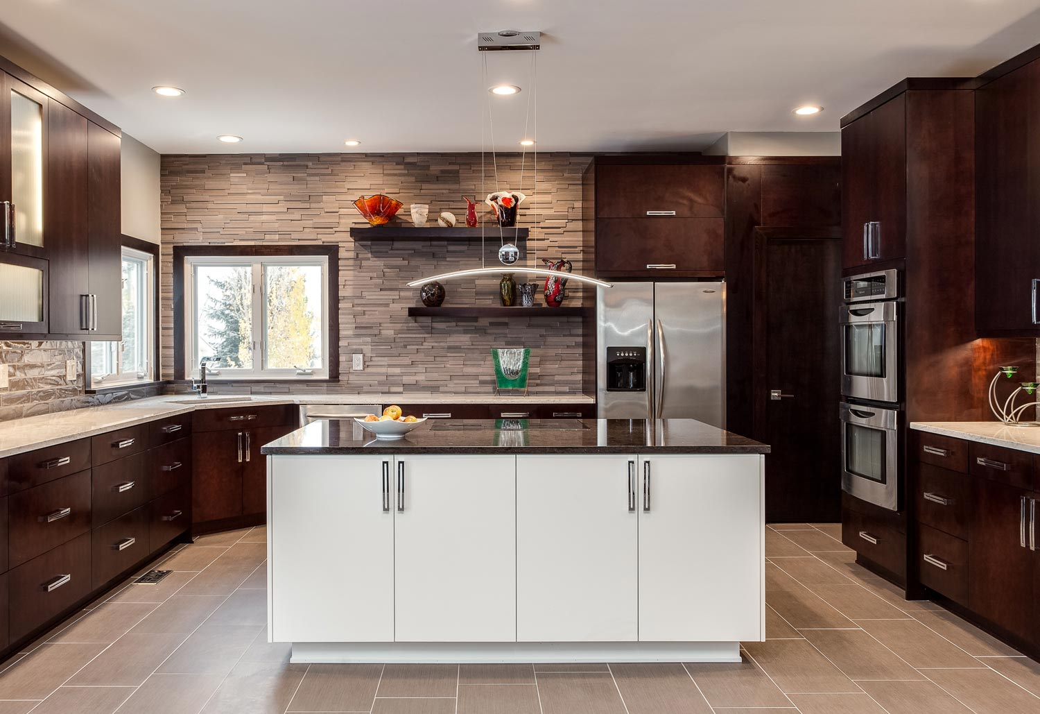 Sleek Contemporary Kitchen Renovation in Lakewood Denver CO