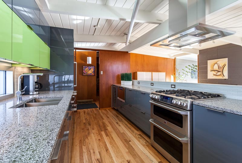 Contemporary Lime Green Kitchen Remodel In Denver Jm Kitchen And Bath