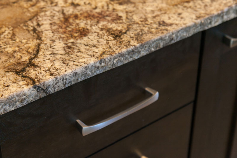 Countertop Closeup Gorgeous Genessee Kitchen renovation Project JM Kitchen and Bath Denver Co