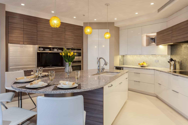 sleek contemporary kitchen renovation denver colorado
