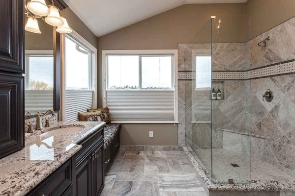 beautiful master bathroom remodel Cherry Hills Village CO