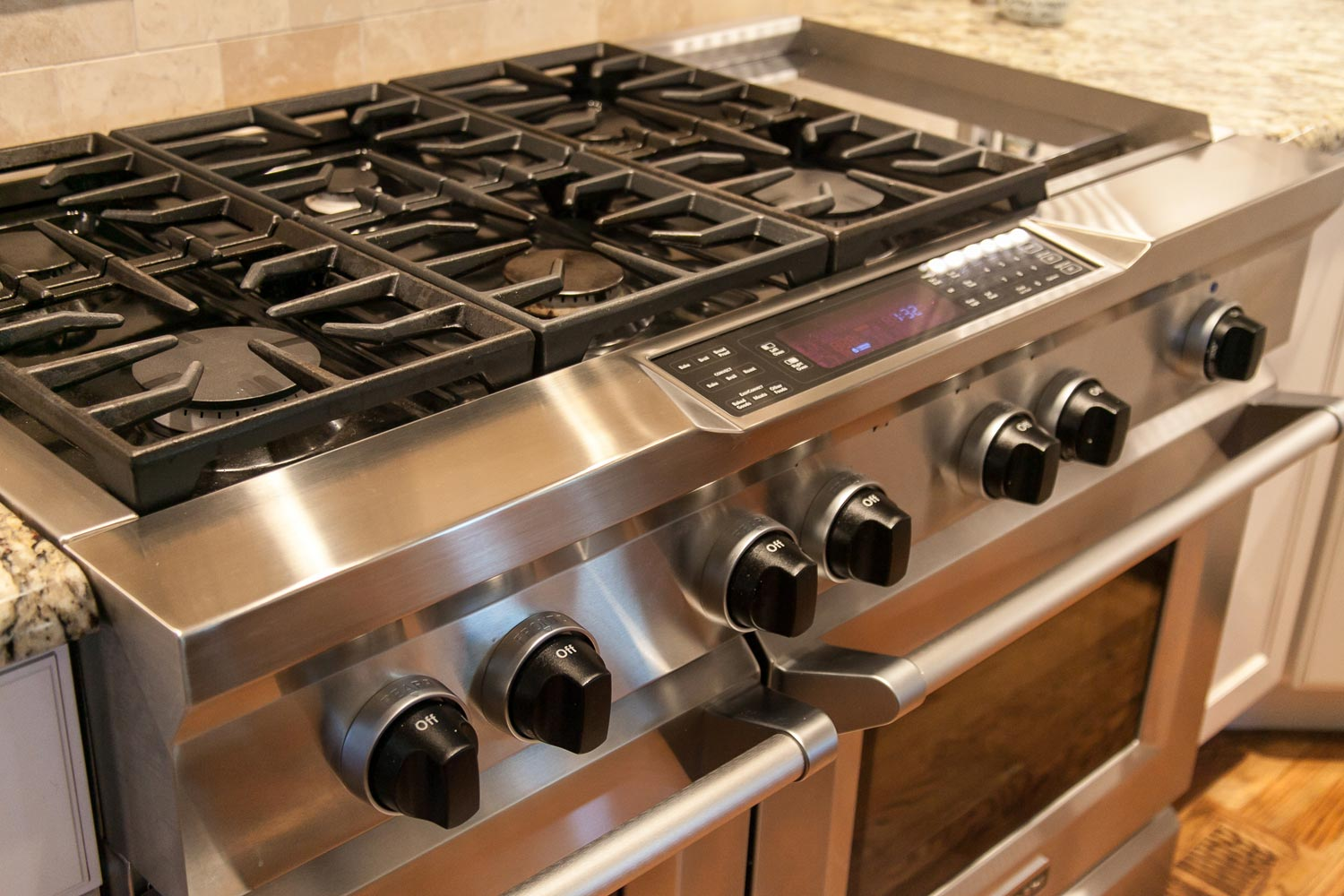 stainless steel 6 burner gas stove