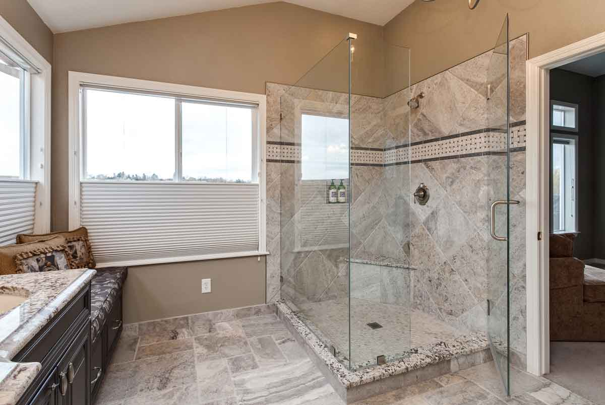 Attirant Traditional Old World Style Bathroom Remodel Denver Colorado