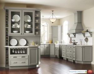 Grey cabinets continue to dominate this year