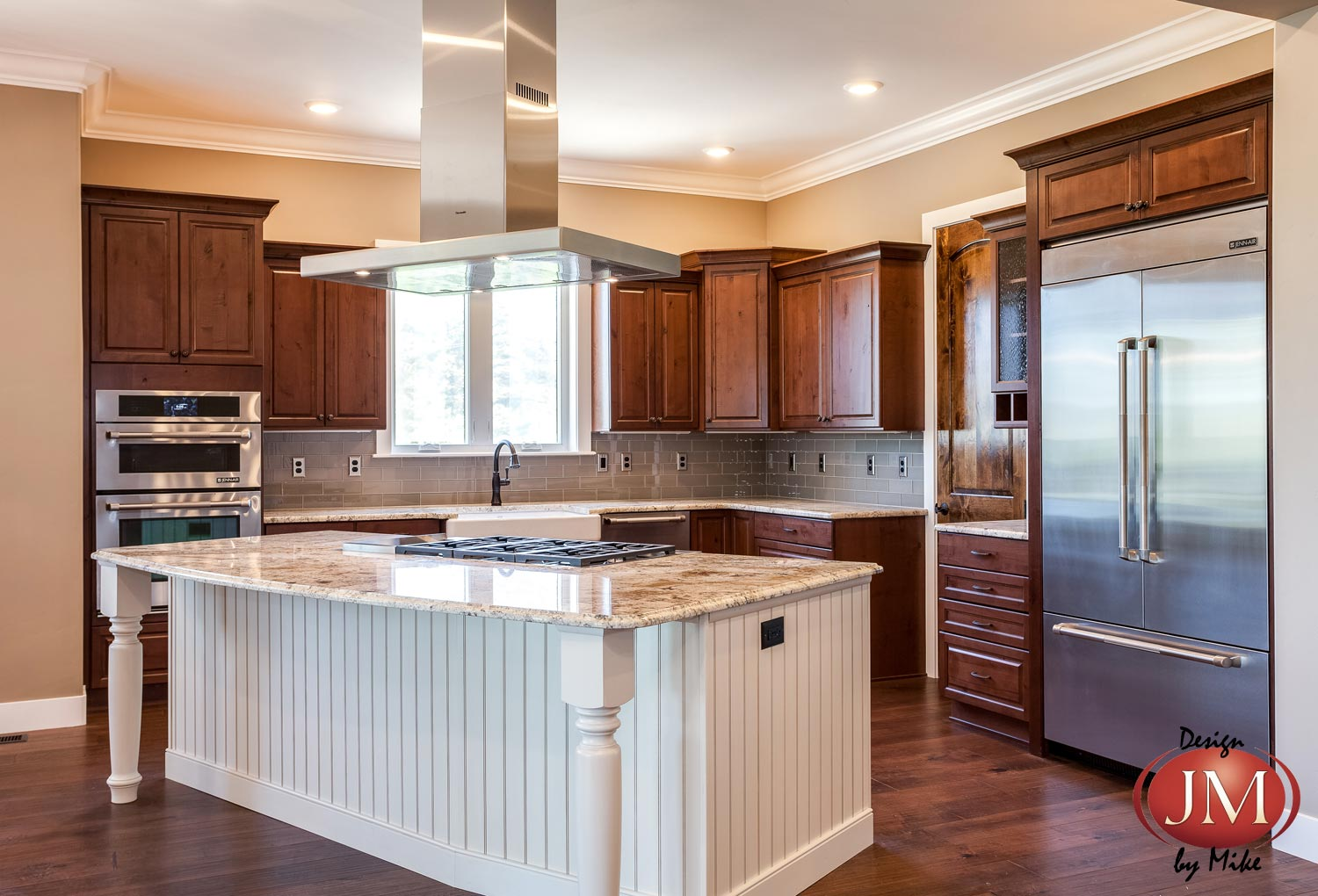 New Center Island Kitchen Design in Castle Rock - JM Kitchen and Bath