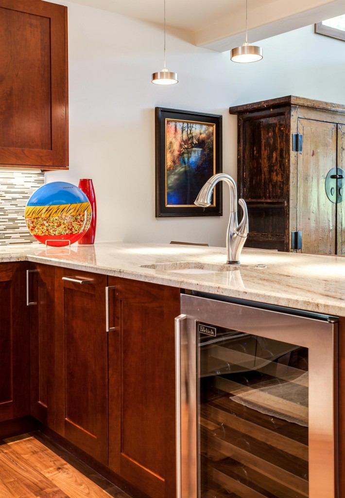 additional faucet in kitchen island renovation