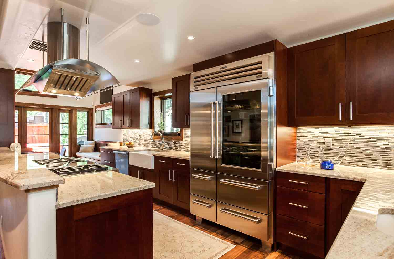 Transitional Kitchen Renovation in Cherry Creek Denver CO