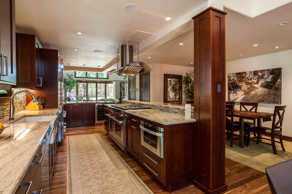 massive kitchen with top of the line appliances in cherry creek denver co