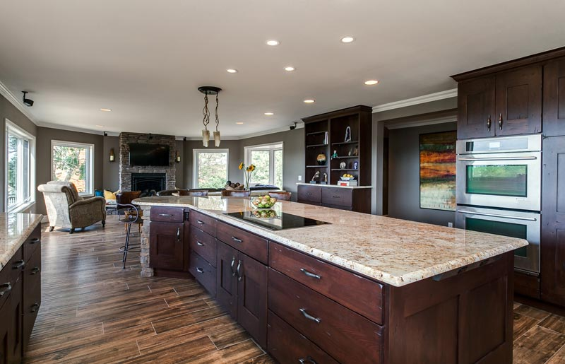 Kitchen Remodel Takes Advantage Of Amazing Mountain Views