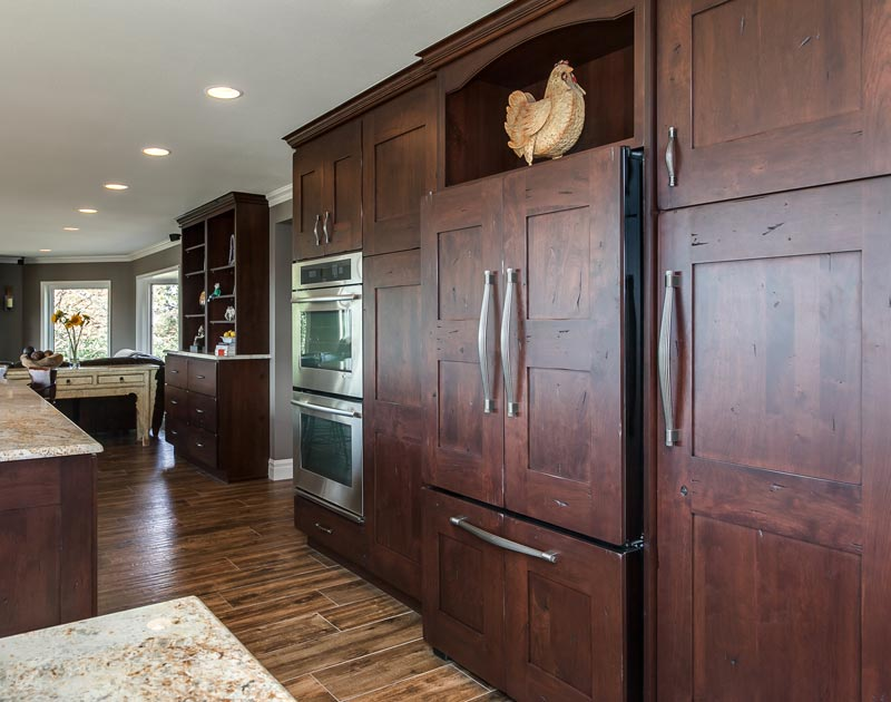 Kitchen Remodel Takes Advantage Of Amazing Mountain Views