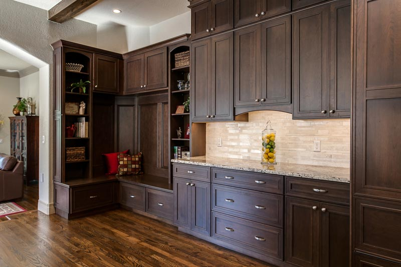 Denver Kitchen Remodel Features Butlers Pantry 2 Islands