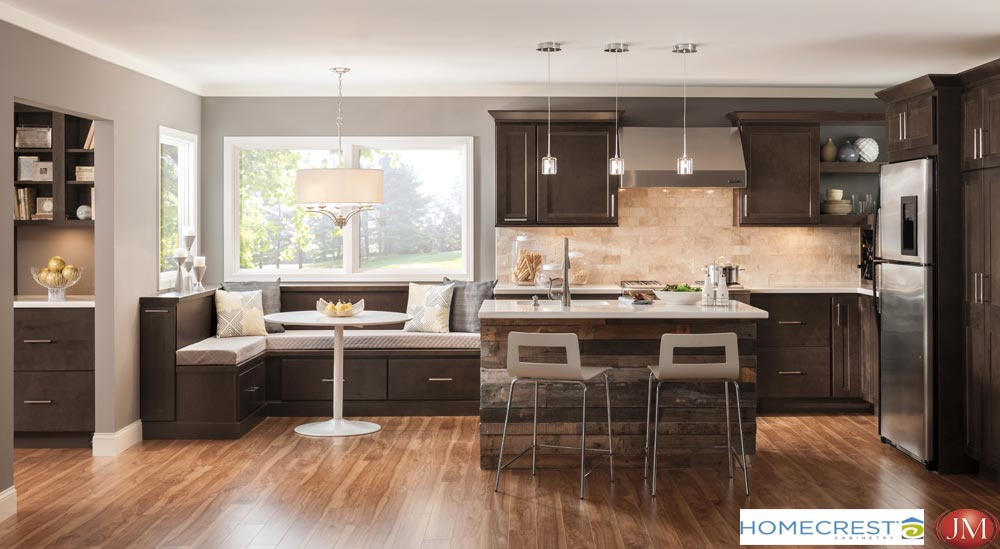 Homecrest Cabinetry Offers 13 Door Styles, 3 Wood Species Plus Thermofoil /  Melamine, And A Selection Of Finishes And Glazes That Together Create Over  300 ...