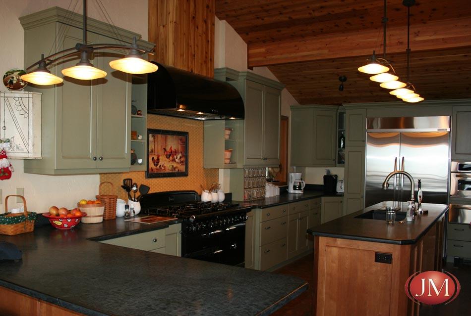 Painted Wood Arts Amp Crafts Kitchen Design By Jm Designers In Denver