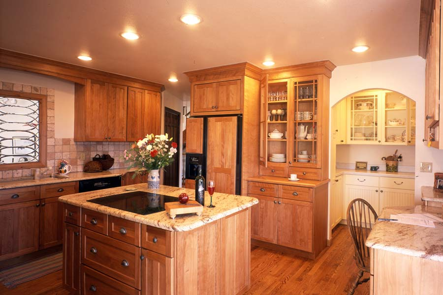 Aspen Gold Kitchen Design Colorado