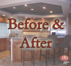 before & After Kitchen Cabinet Portfolio Denver CO