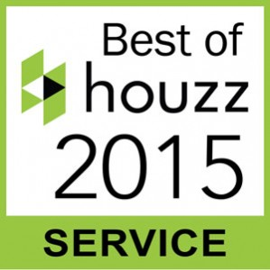 JM Kitchen and Bath Denver awarded the Best of Houzz award for customer service two years in a row.