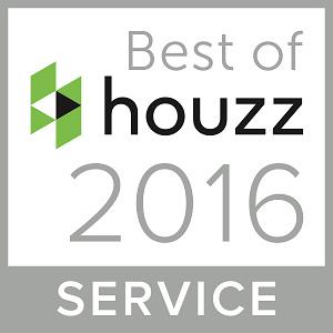 JM Awarded Best of Houzz for Customer Service 2016