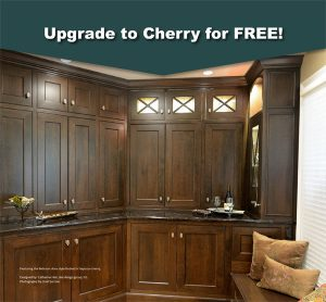 Upgrade to Cherry Cabinets for Free in Denver – Castle Rock