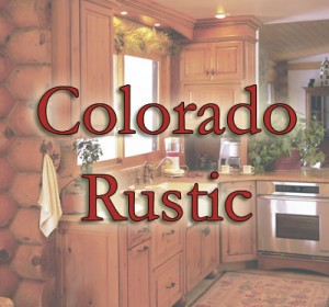 Colorado Rustic Kitchen Cabinet gallery