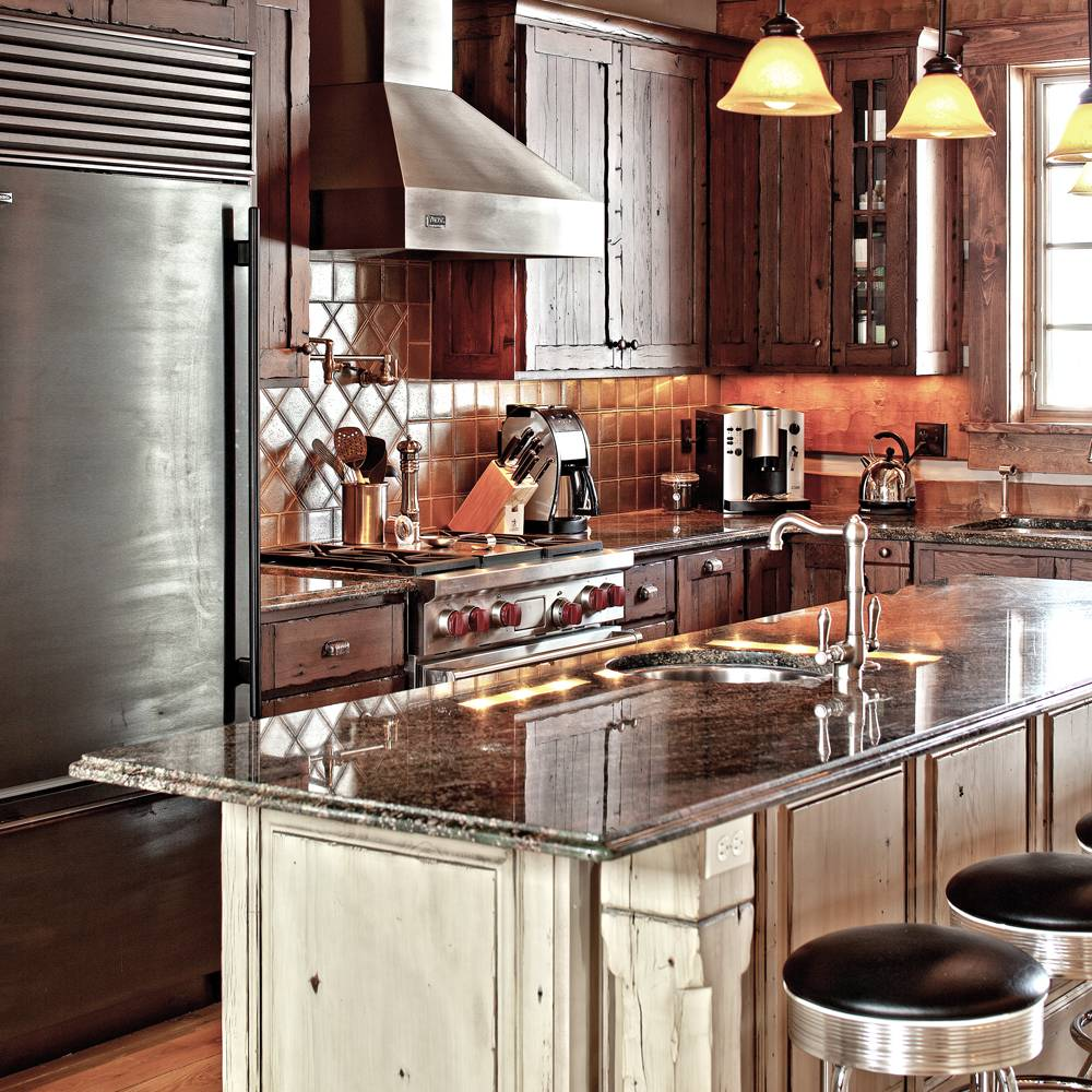 Custom Kitchen With Stainless Everywhere