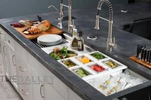 Introducing Galley Sinks: An Entire Kitchen Workstation