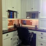 White shaker style cabinetry