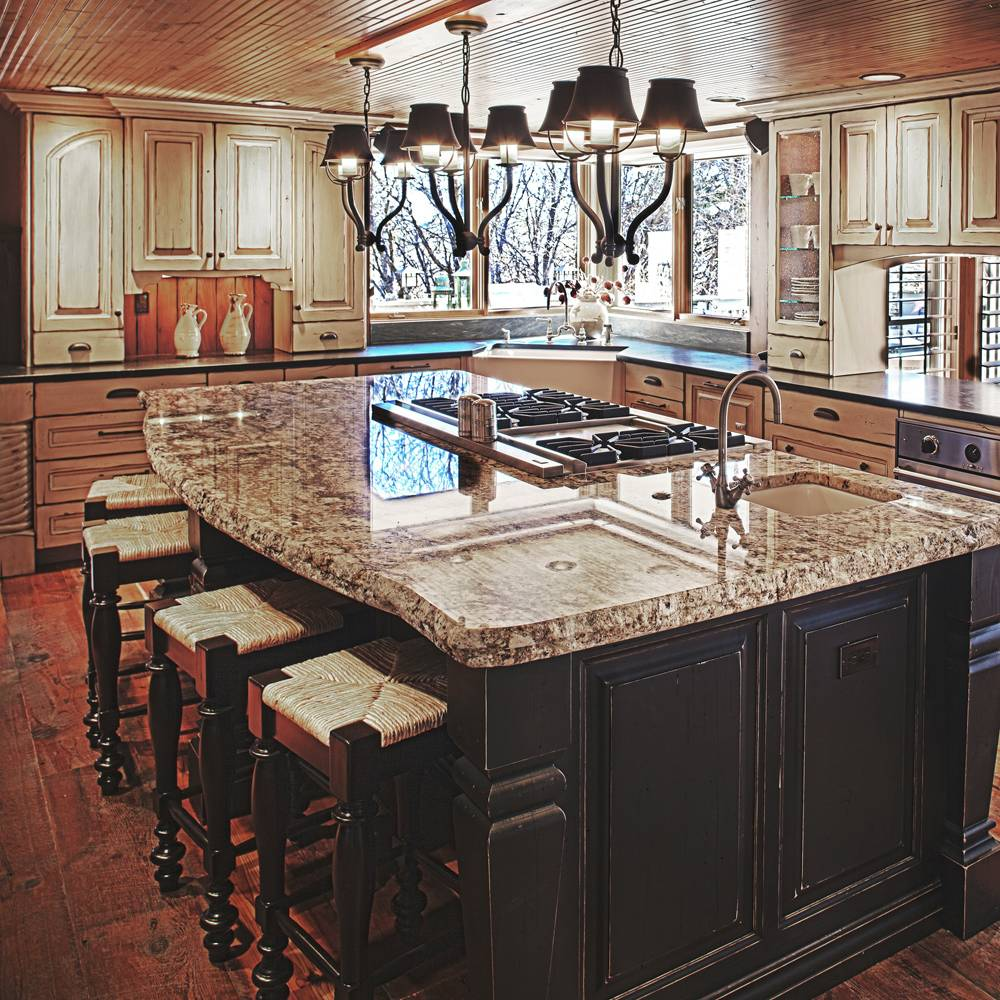 Colorado rustic kitchen gallery jm kitchen denver Kitchen island plans