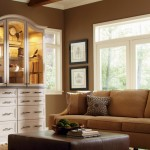 Living Room Custom Cabinets