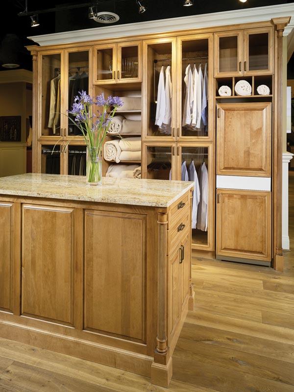 Master Closet Cabinets