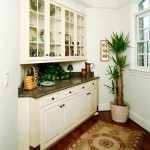 Painted Wood Butlers Pantry