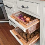 Pull out fruit and vegetable bins