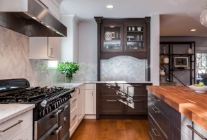Butlers pantry kitchen remodel denver