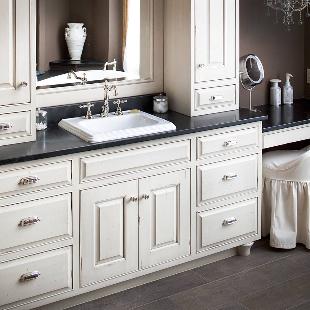 countertop cabinets for the bathroom traditional painted cabinets 14126