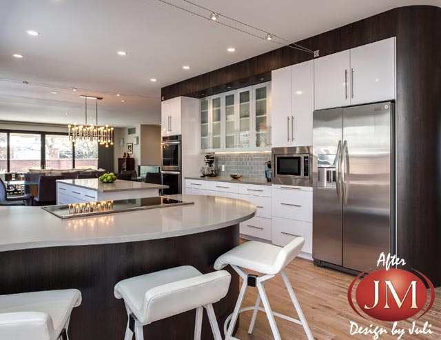 Modern Kitchen Remodel in Denver by Juli at JM Kitchen & Bath