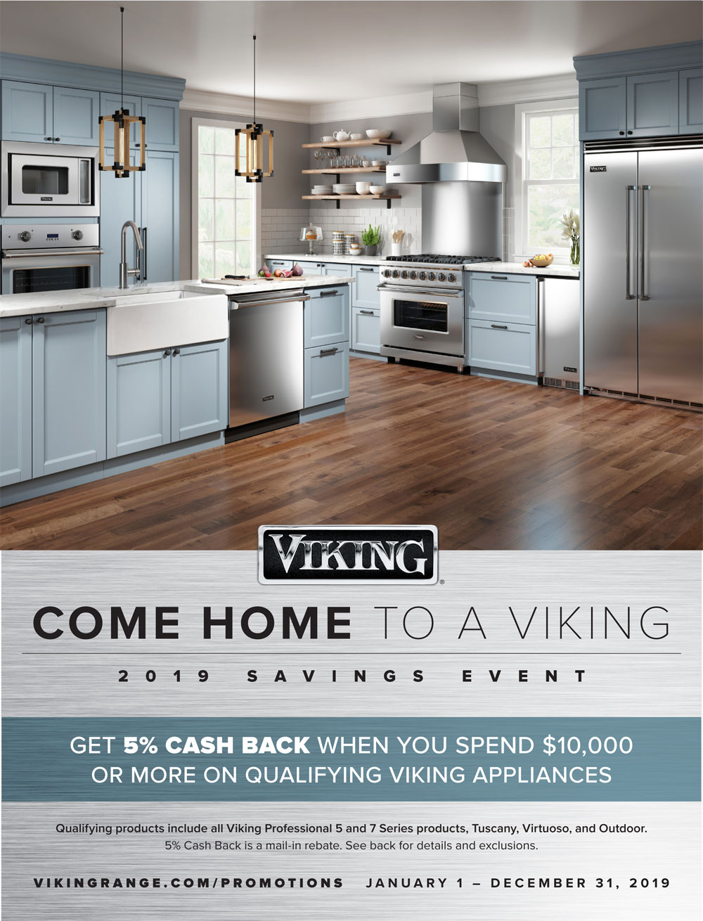come home to a viking appliance event