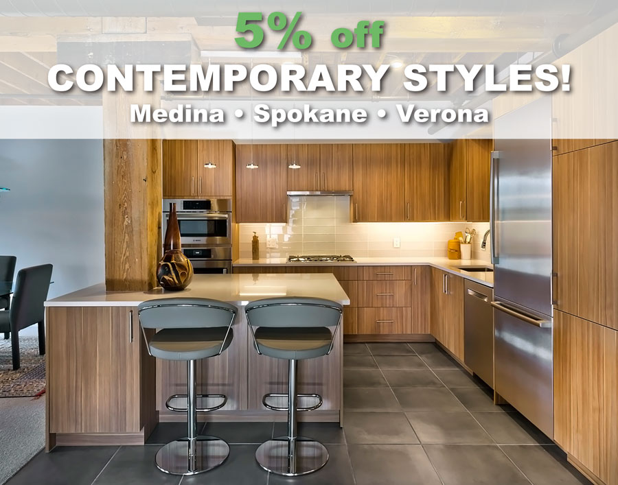 Crystal Cabinets Offering 5% Off On Contemporary Cabinetry
