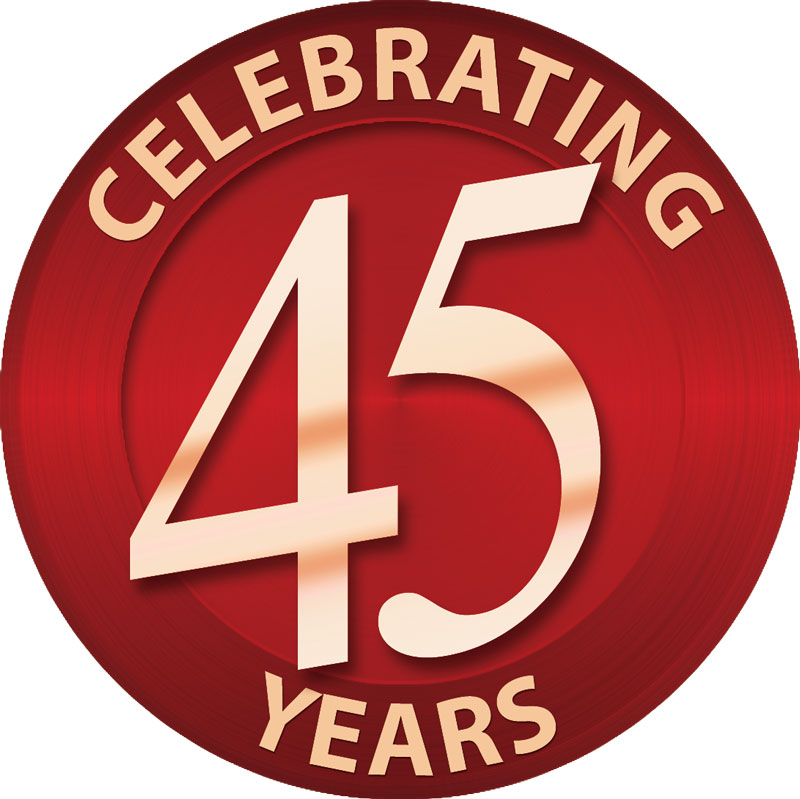 LOGO -JM Kitchen & Bath in Denver & Castle Rock celebrating 45 years serving homeowners in Colorado and beyond