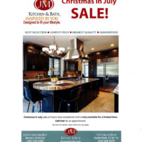 Christmas in July Omega Cabinetry Sale
