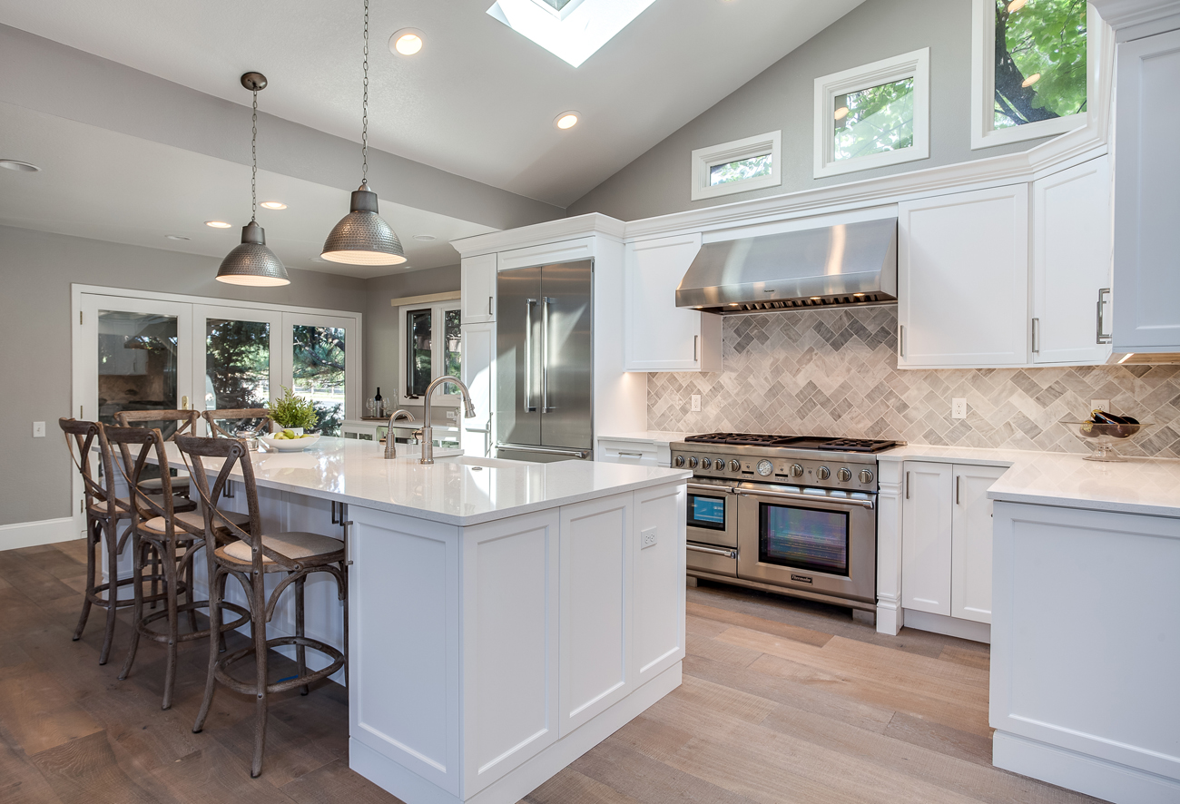 White Shaker Kitchen Remodel In Greenwood Village Jm Kitchen