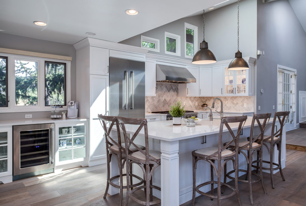 Greenwood Village White Shaker Kitchen Remodel