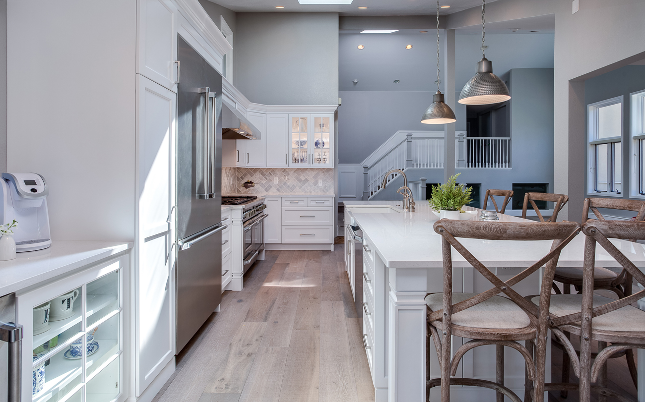 Greenwood Village White Shaker Kitchen Remodel