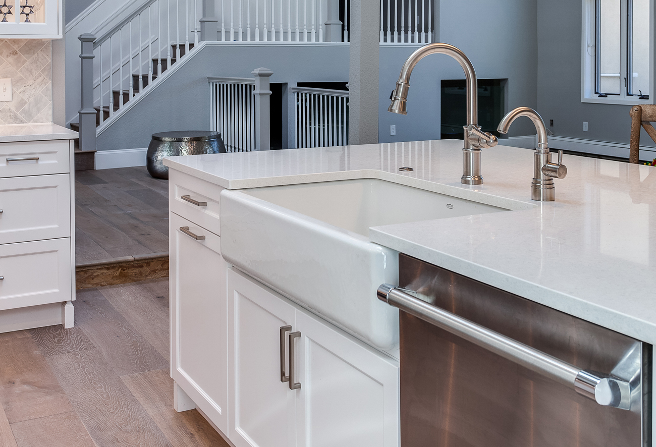 Kohler Whitehaven Single Bowl Apron Front Sink, Cast Iron, White
