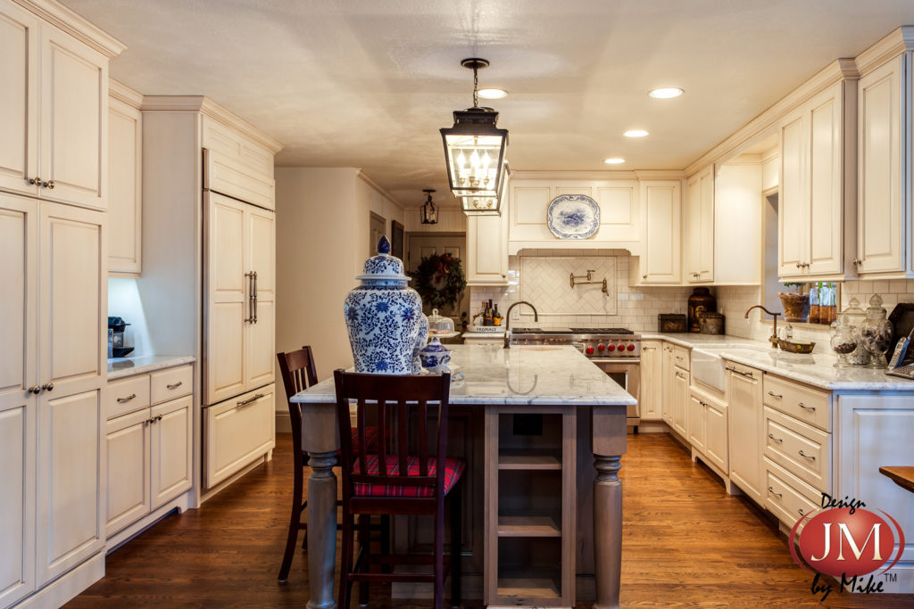 Gorgeous Kitchen Renovation Project in Monument Colorado with White Painted Cabinets