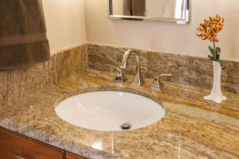 countertop in master bath