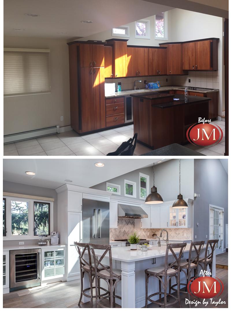 Before & After Greenwood Village Kitchen Remodel